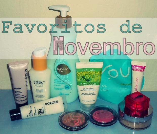 1 - Favoritos Novembro 1