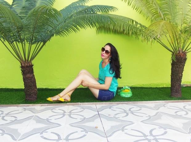 1- Look do Dia Verde ÁGUA 1