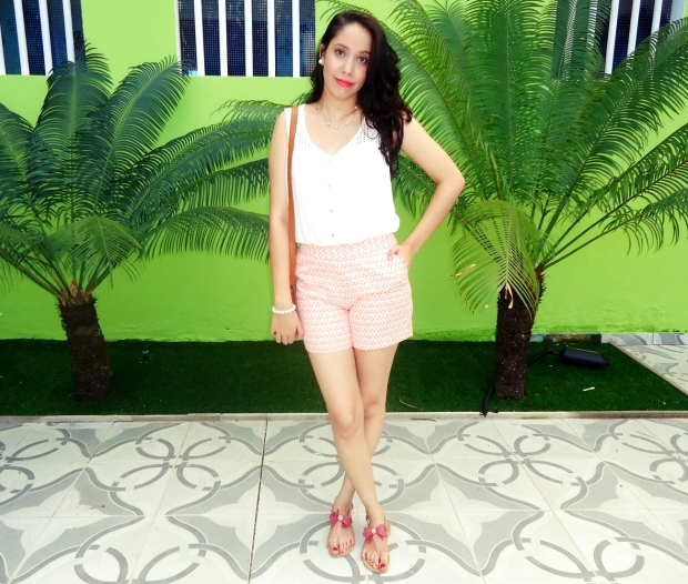 2- LOOK DO DIA CORAL 1.