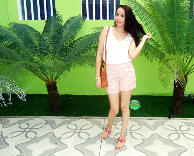2- LOOK DO DIA CORAL 2.