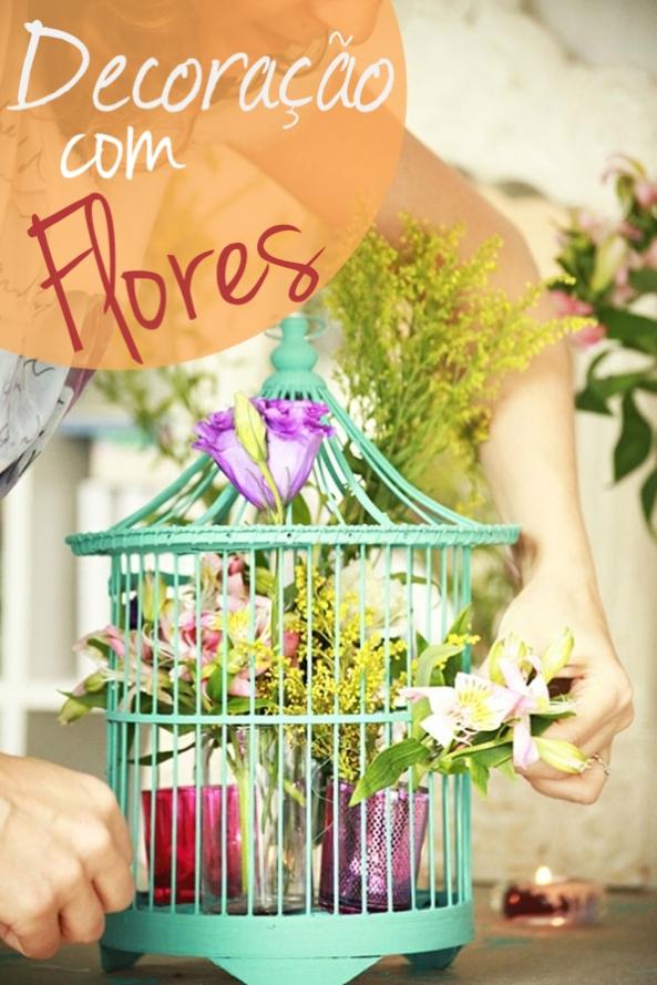 Decoração com Flores 1