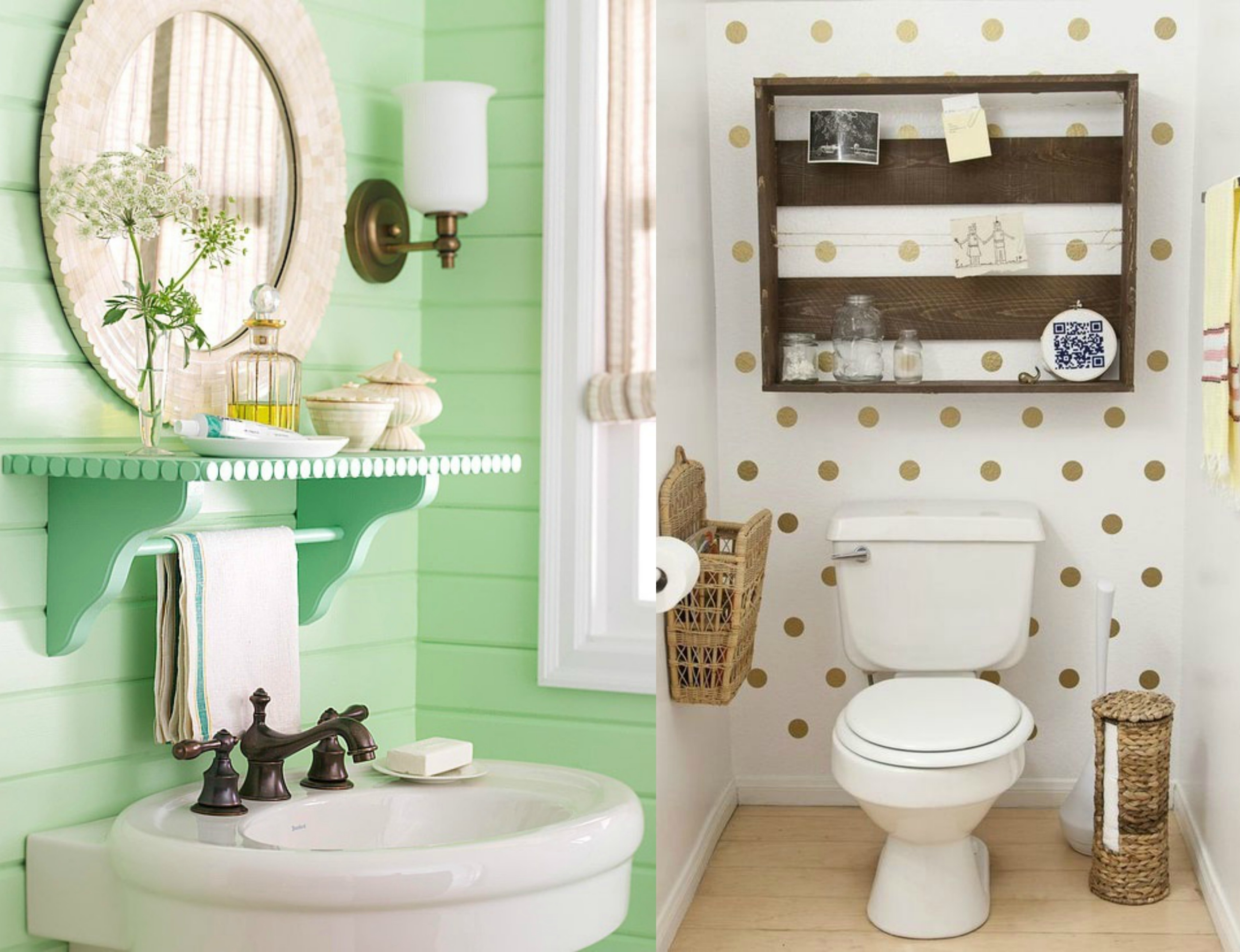 Otomes Criativas: 5 dicas de decoração para o banheiro #448757 3400 2611