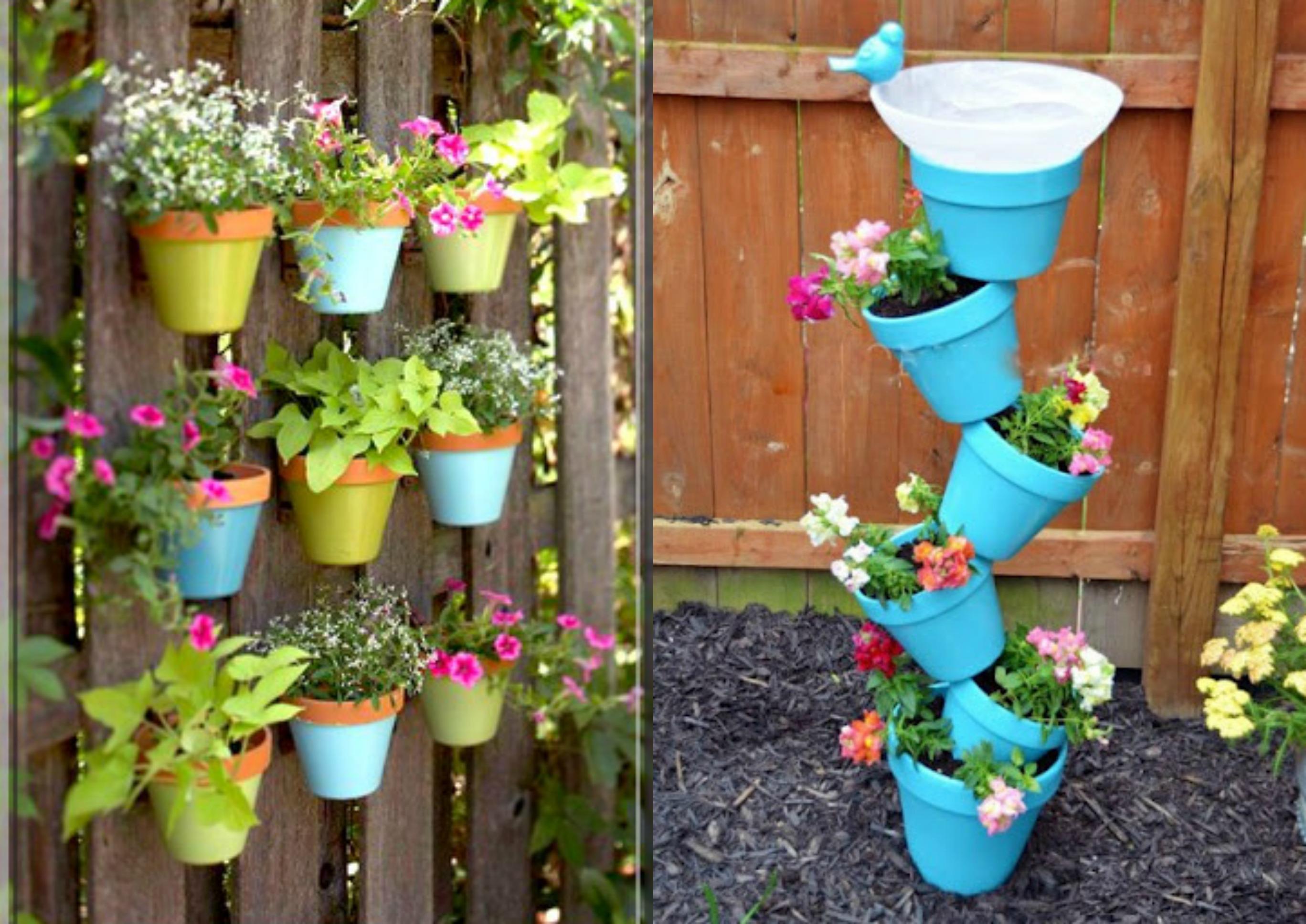 Decoraç u00e3o de Jardins! u2013 Up! -> Decoração Para Jardins Com Paletes
